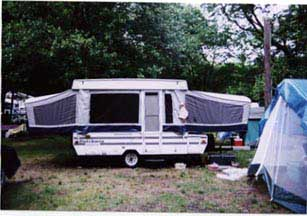 2001 Dutchmen Voyager Pop Up http://www.bbsgarage.com/floorplan.html